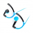 IN-042 Sports In-Ear Earphone w/ Mic for IPHONE, Samsung, HTC, Xiaomi - Blue + Black