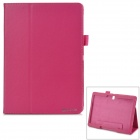 PU Flip Open PU Case w/ Stand for 10.5'' Samsung Galaxy Tab S T800 / 801 / 805 - Deep Pink