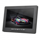 "L7009 7.0"" TFT LCD Screen Car Reversing Rearview Monitor w/ VGA / BNC / AV Input + Stand - Black"