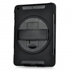Protective 360 Degrees Rotatable PVC Full Body Case for IPAD AIR - Black