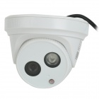 "Cotier TV-533W/IP Waterproof 1/3"" CMOS 720P IP Camera w/ 1-IR-LED / IR-CUT - White (US Plug)"
