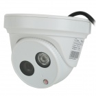 "Cotier TV-533W / IP Vanntett 1/3 ""CMOS 720P IP-kamera med 1-IR-LED / IR-CUT - Hvit (US Plug)"