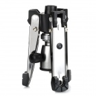 Aluminum Alloy Rubber Support Frame - Black + Silver