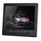 "L8008HD 8.0"" TFT LCD Display Screen Car Monitor w/ Stand + Speaker + VGA Cable - Black"