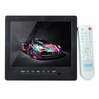 "L8009 8.0"" TFT LCD Screen Car TV w / PC Monitor / IR Remote Controller / Speaker / Stand - Black"