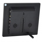 "L8009 8.0"" TFT LCD Screen Car TV w/ PC Monitor / IR Remote Controller / Speaker / Stand - Black"