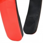 Foldable Bluetooth V4.0 Headband Style Headphone w/ Mic for IPHONE / IPAD / IPOD - Red + Black