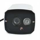"Cotier TV-637W/IP Waterproof 1/3"" CMOS 1.0MP IP Camera w/ 1-IR-LED / IR-CUT - White (US Plug)"