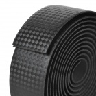 NUCKILY R007 Road Bike Bicycle PU Handlebar Tape Belt Wrap - Black