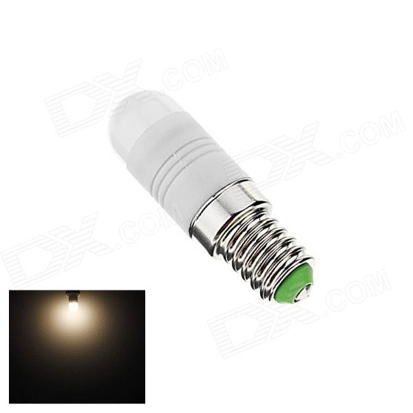 Gotrade XL-2 E14 2W 110lm 3000K 6-SMD 5630 LED Warm White Light Bulb - White + Silver (AC 220~240V) e14 5w 110lm 3000k 8 smd 5630 led warm white light lamp bulb ac 85 265v