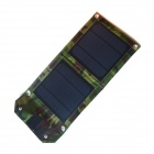 WN-09 5W 1A Fold-up Solar Panel Power Battery Charger - Camouflage