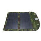 WN-02 10W 2A Fold-up Solar Panel Power Battery Charger - Camouflage