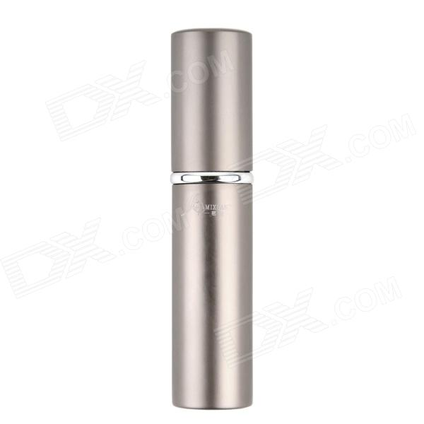 MIXUAN Portable Aluminum Alloy + Glass Perfume Spray Bottle - Coffee(6 ML)