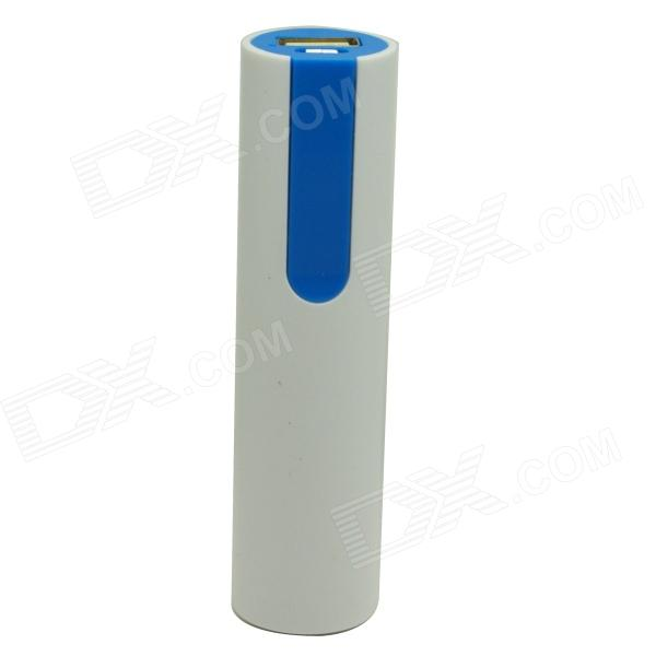ODEM 1500mAh Li-ion Battery Mobile Power Bank - White + Blue