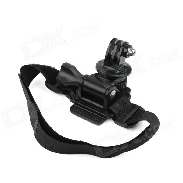 Helmet Arm Band / Strap Stand Holder for Gopro Hero 4/2 / Hero3 / 3 - Black