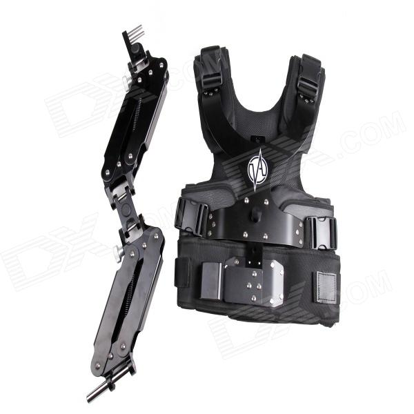 Фото DEBO DS-2 Professional Photographing Shooting Vest + Double Mechanical Arm - Black