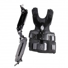 DEBO DS-2 Professional Photographing Shooting Vest + Double Mechanical Arm - Black