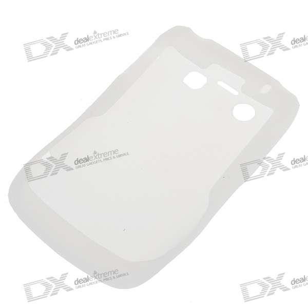 Silicone Case for Blackberry 9700/9020 Cell Phone (White)