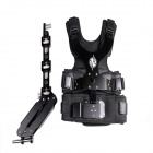 DEBO DS-1 Professional Photographing Shooting Vest + Single Mechanical Arm Set - Black