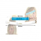 Handy Pop-up Hair Style Trimmer - White + Blue