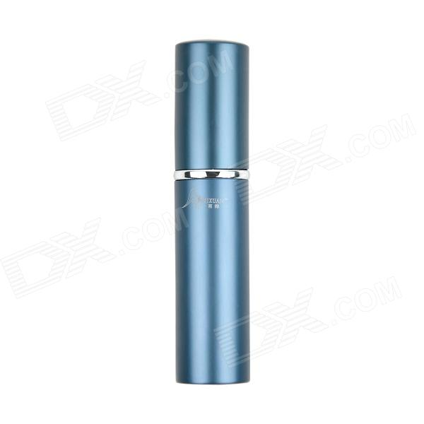 MIXUAN Portable Aluminum Alloy + Glass Perfume Spray Bottle - Blue (6 ML)