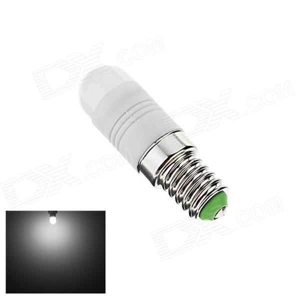 Gotrade XL-3 E14 2W 110lm 6500K 6-SMD 5630 LED White Light Bulb - White + Silver (AC 220~240V) лампочка thomson tl 35w f1 3 2w 3000k 220 240v e14 180232