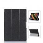 Protective PU Leather Case Cover w/ Magnetic Closure for Windows Surface Pro 3 12'' - Black