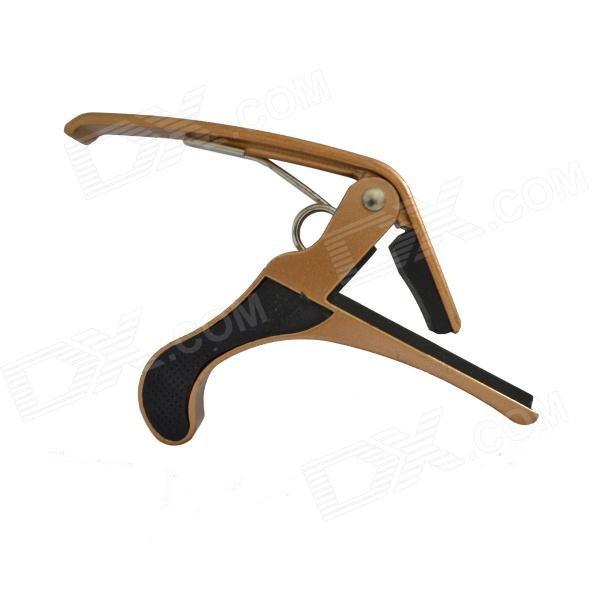 DEDO MA-9 Clip-on Quick Release Zinc Alloy + Rubber Capo for Ukulele - Golden cdu bore 6 32 stroke 5 50d free mount cylinder double acting single rod more types refer to form