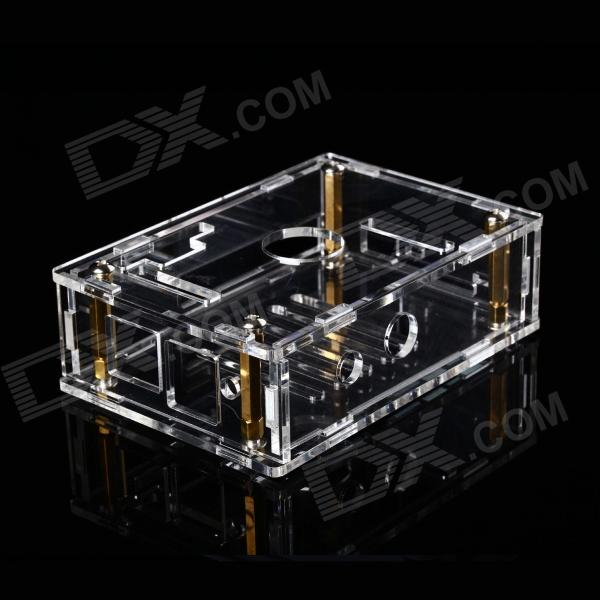 Fine Source YKL-1 Acrylic + Copper Case Set for Banana Pi - Transparent