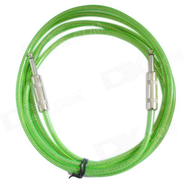 DEDO MA-39 High Quantity Electric Guitar Cable - Green (300cm) electric guitar wiring harness kit 3 way toggle switch 1 volume 1 tone 500k pot electric guitar parts accessories 2 humbucker