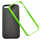 Bumblebee Slim Border Protective Back Case for IPHONE 5 / 5S - Black + Light Green