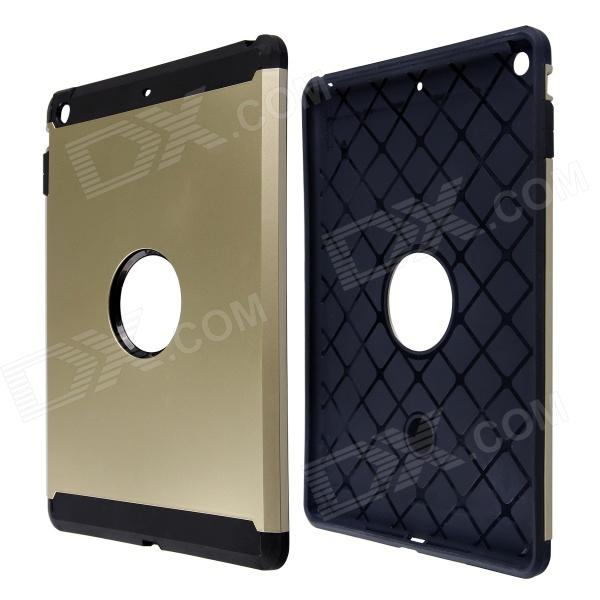 Fashion PC and Silicone Hybrid Patchwork Tough Armor Case with Air Cushion Tech for IPAD AIR high tech and fashion electric product shell plastic mold