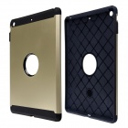 Fashion PC and Silicone Hybrid Patchwork Tough Armor Case with Air Cushion Tech for IPAD AIR