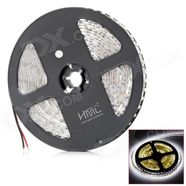 HML 48W 2300lm 600-SMD 3528 LED Cold White Light Strip (5m)