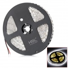 HML 48W 2300lm 6500K 600-SMD 3528 LED White Light Strip - White + Light Yellow (DC 12V / 5M)