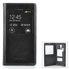 Protective Case w/ QI Standard Wireless Charging Receiver for Samsung Galaxy S5 - Black