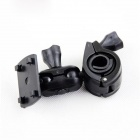 360' Rotation Handlebar Mounted Car DVR Bracket - Black