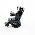 Handlebar Mounted T- Buckle Car DVR Bracket - Black