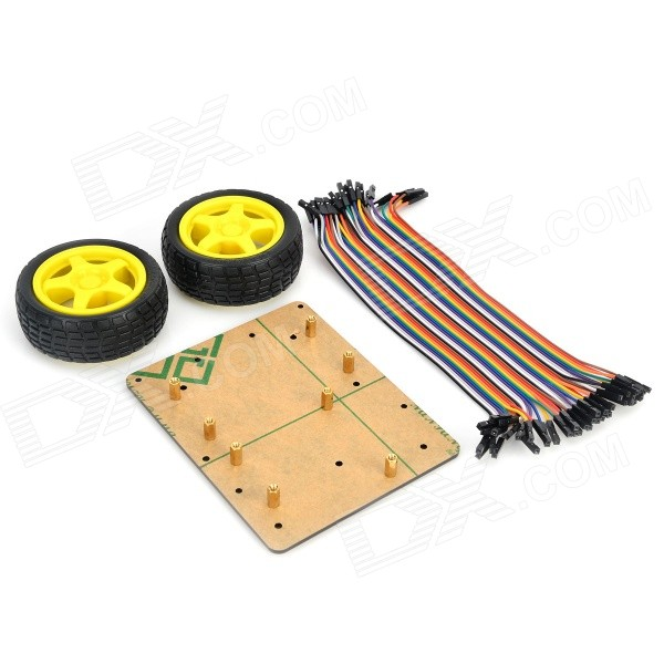 Keyes ultrasonic distance measuring robot car kits for
