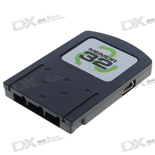 Memor 32 Advanced USB 32MB PS2 Memory Card