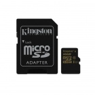 Kingston Digital 16GB CL10 UHS-I 90R/45W microSDHC Card (SDCA10/16GB)