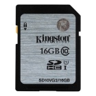 Kingston Digital 16 GB SDHC/SDXC Class 10 UHS-1 Flash Memory Card 30MB/s (SD10V/16GB)