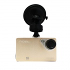 "Kemico T162 2.7"" TFT CMOS 1.3MP / 3.0MP Dual Camera Wide Angle Car DVR w/ G-sensor / TF / 4-IR Light"