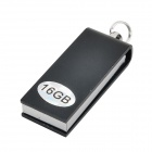 Mini alumínio USB 2.0 Flash Drive - Black (16GB)