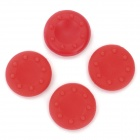 4-in-1 Anti-Slip Silicone Cover for PS2 / PS3 / PS3 Slim / PS4 / XBOX360 / XBOX ONE - Red (4 PCS)