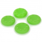 4-in-1 Anti-Slip Silicone Cover for PS2 / PS3 / PS3 Slim / PS4 / XBOX360 / XBOX ONE - Green (4 PCS)