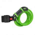 TONYON TY566 Universal 5-Digit Password Security Anti-Theft Bicycle Bike Lock - Green