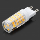 HH39 G9 3.5W  320lm 3200K 51-SMD 2835 LED Warm White Light Bulb - White + Transparent (AC 220~240V)