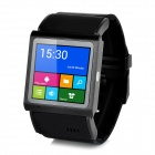 "EC309 1.54"" Screen 3G Bluetooth V4.0 MTK6577 WCDMA / GSM Smart Wrist Watch Phone - Black"