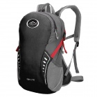 LKLK 463 Outdoor Sports Running Cycling Hiking Water Resistant Backpack Shoulder Bag - Black